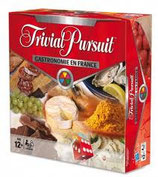 TRIVIAL PURSUIT GASTRONOMIE EN FRANCE 3000 QUESTIONS/REPONSES