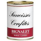 SAUCISSES CONFITES BIGNALET BOITE 400G