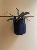 Pflanztasche - BACSAC Balkonpot 10 Liter - indigo und lindgrün