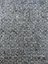 Lederteppich graublau Au maison