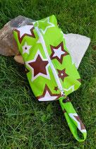 Mini-Wetbag aus PUL mit Schlaufe zum Aufhängen