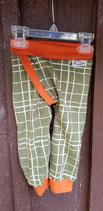 Splitpants grüne Kästchen Größe 74 Jersey