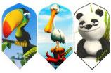6 Sets (=18 Stück) Amazon Cartoon Flight