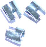 1 Set (=3 Stück) Shaftringe/ Krone für Nylonshaft