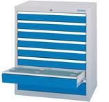 Schubladenschrank T500 mit 8 Schubladen ohne Einteilungen