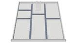 Einteilungssortiment für Schubladenhöhe 100 mm für Schrankbreite 705 mm