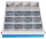 Schubladeneinteilung für mobile Werkbank T600 für Schubladenhöhe 100 mm