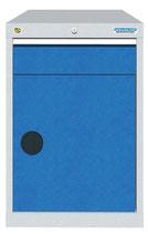 Schubladenschrank mit 1 Schublade, 1 Flügeltüre  ohne Einteilungen