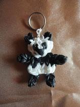 Porte clefs Loom Panda