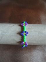 Bracelet Fleurs Perles