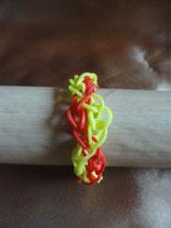 Bracelet Loom Nid d'Abeille