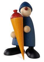 Caspar mit Zuckertüte, blau