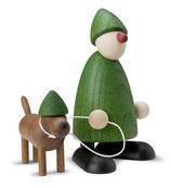 Emil mit Waldi, grün