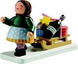 Mädchen mit Schlitten (Winterkind)