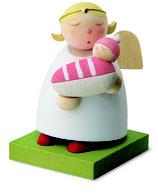 Schutzengel mit Baby - Mädchen