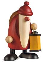 Weihnachtsmann mit Laterne, groß