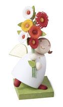 Schutzengel mit Blumen