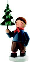 Junge mit Baum (Winterkind)