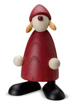 Weihnachtsfrau stehend, klein