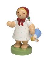 Mädchen mit Puppe (Frühlingskind)