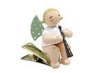 Engelmusikant auf Klemme, mit Altoboe