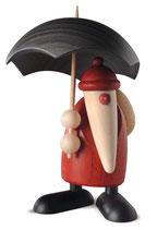 Weihnachtsmann mit Schirm, klein