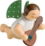 Engelmusikant, schwebend, mit Mandoline