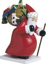 Weihnachtsmann, groß, mit Spielzeug
