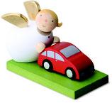 Schutzengel mit Auto