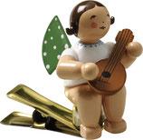 Engelmusikant auf Klemme, mit Mandoline