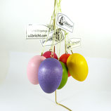 Baumbehang Holz-Ei von Christian Ulbricht (Erzgebirge)