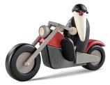 Motorradfahrer, solo