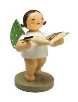 Goldedition N° 10, Vorleser, Engel mit Buch, vergoldet