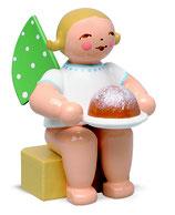 Engel (KLEIN) mit Kuchen