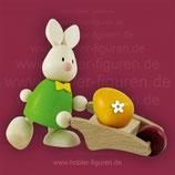 Max mit Schubkarre und Ei (Hobler)