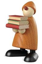 Billy mit Büchern, gelb