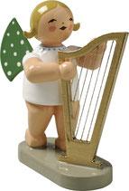 Engel mit großer Harfe