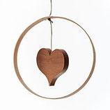 Holzdekor - Herz