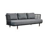Sense Sofa, schwarz