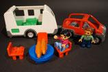 Duplo Wohnwagen / Camping Set