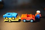 Duplo Abschleppauto mit Autoanhänger als Set