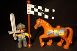 Duplo Ritter mit Pferd als Set