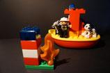 Duplo Feuerwehrboot als Set
