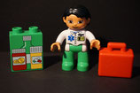 Duplo Ärztin mit Koffer + Medikamente als Set