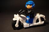 Duplo Polizist auf Motorrad