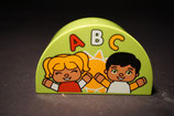 Duplo Motivstein Schule / ABC