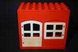 Duplo Haus mit Tür und Fenster 4x8 (Rückseite offen)