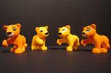 Duplo Löwenbabies (4 Tiere) als Set