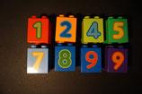 Duplo Zahlensteine hoch 2x2