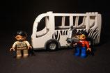 Duplo Zoo- / Safaribus als Set